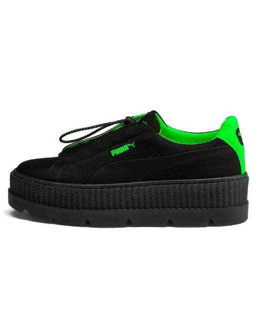PUMA - Black Cleated Creeper Surf Casual Trainers - Lyst