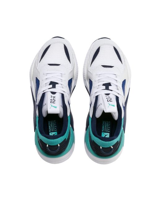 6a0a3714 Men's White Rs-x Hard Drive Casual Sneakers