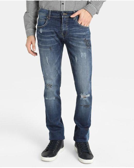 GREEN COAST | Blue Slim-fit Jeans for Men | Lyst