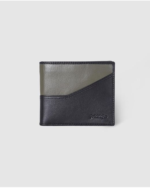 Jo & Mr. Joe - Mens Green And Black Wallet With Coin Pocket for Men - Lyst