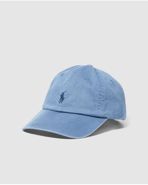 c4c58a879 Polo Ralph Lauren Classic Sport Cap in Blue for Men - Save 31% - Lyst