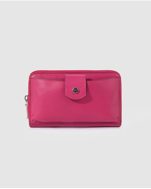 Gloria Ortiz | Multicolor Fuchsia Wallet With Pocket For Mobile Phone | Lyst
