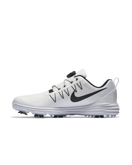 Lyst - Nike Lunar Command 2 Boa Golf Shoes in White for Men - Save 37% 5683a686fd4