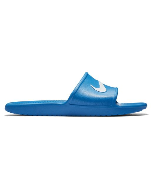 4578d20a4f22 ... inexpensive nike blue kawa sandals for men lyst 6268d 91911