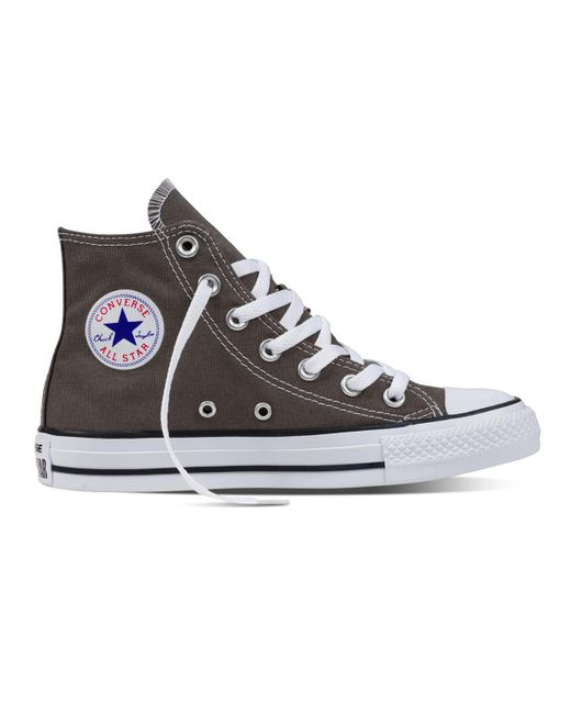 Converse - Gray Chuck Taylor All Star Casual Unisex Trainers for Men - Lyst