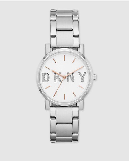 DKNY Metallic Ny2681 Soho Steel Watch