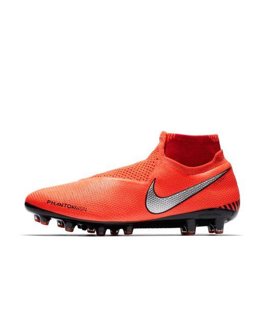 f6fb7793224 ... Nike - Orange Phantom Vsn Elite Df Ag-pro Football Boots for Men - Lyst  ...