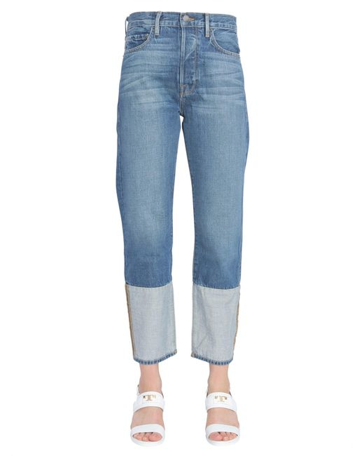 "FRAME Blue ""le Original"" Cult Classic Fit Jeans"