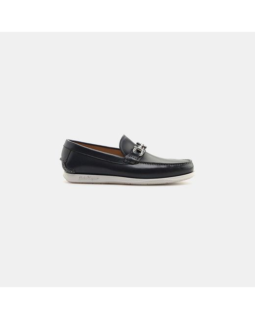 Ferragamo | Multicolor Faro Calfskin Leather Slip-on Loafer for Men | Lyst