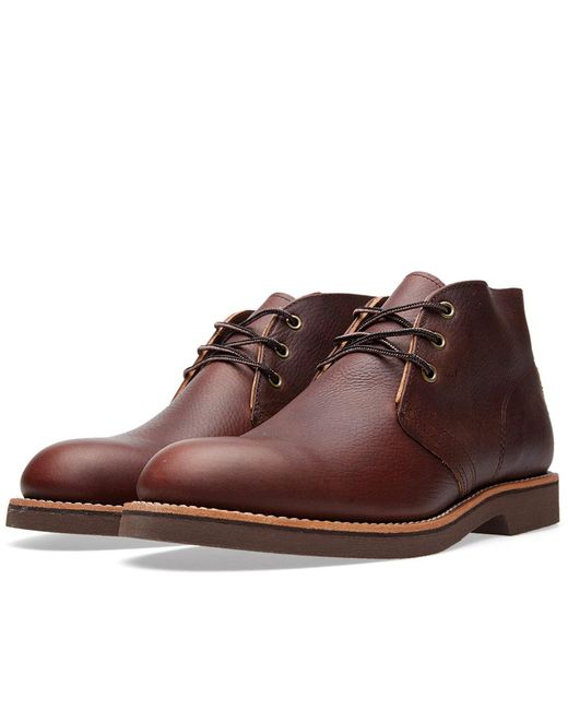 Red Wing - Brown 9215 Heritage Work Foreman Chukka for Men - Lyst