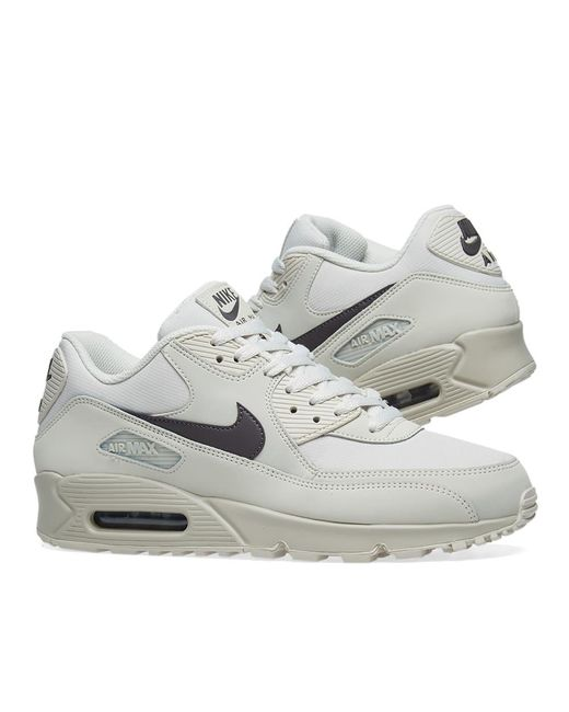 9235ef9b95fae ... Nike - Gray Air Max 90 Essential for Men - Lyst