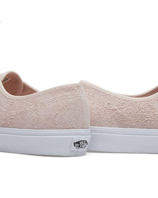 2e6f999bf8 ... Vans - Pink Ua Authentic Hairy Suede for Men - Lyst ...