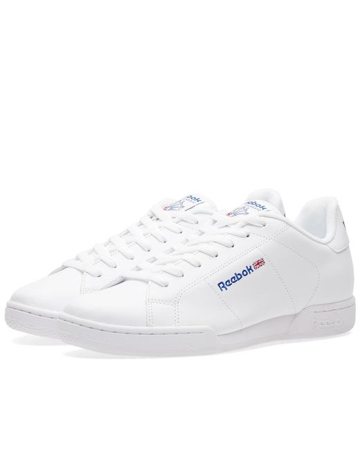 19bde8451c67f Reebok - White Npc Ii for Men - Lyst ...