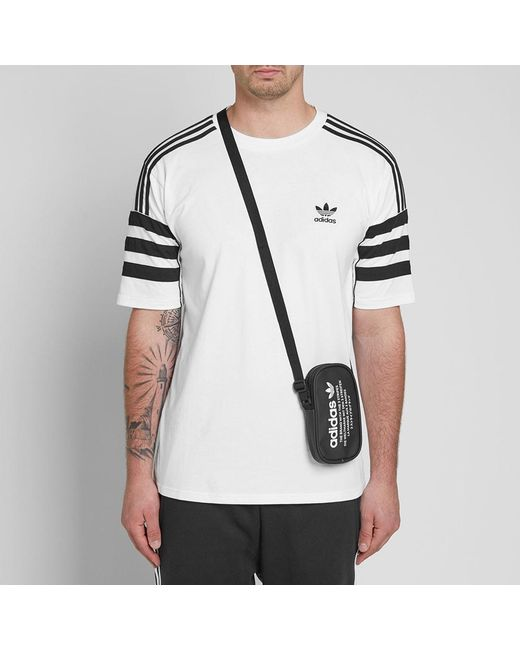 ... Adidas - Black Nmd Cross Body Pouch for Men - Lyst ... c71f264ffee0b