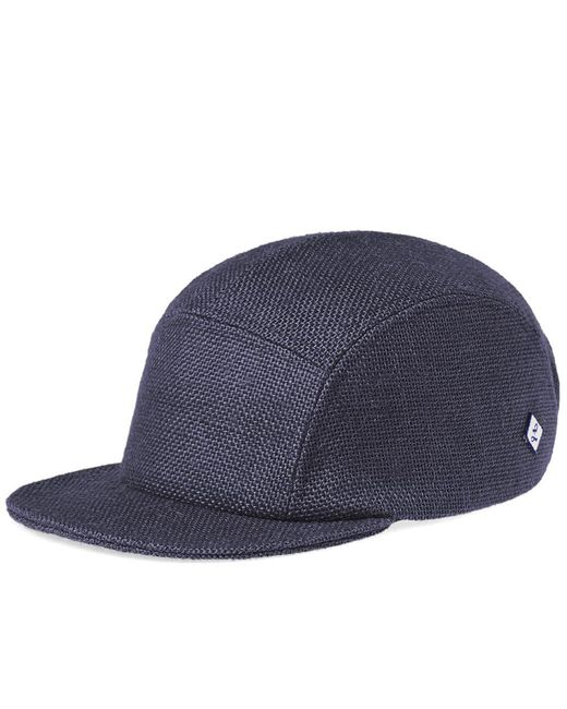Larose Paris - Blue Burlap 5-panel Cap for Men - Lyst