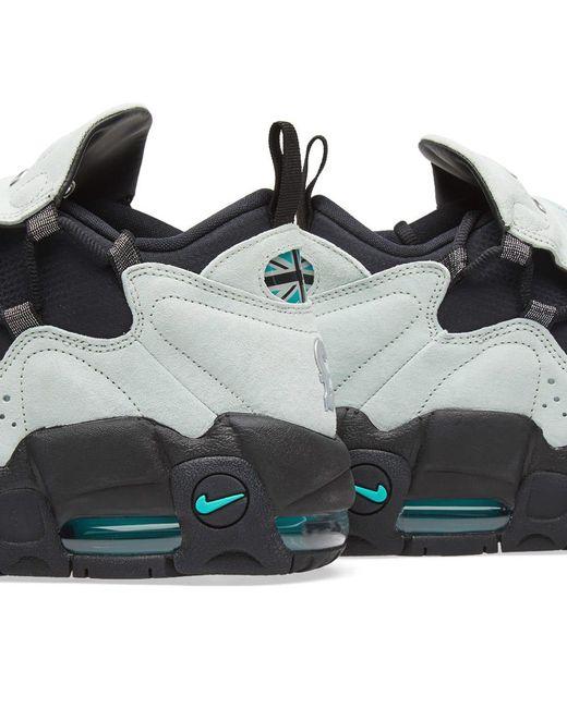 ... Nike - Green Air More Money Qs for Men - Lyst ...
