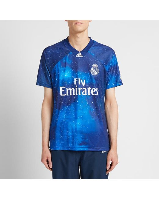 4d6ed32967d ... Adidas Originals - Blue Real Madrid Football Jersey for Men - Lyst ...