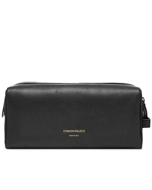 2250d9d761 Common Projects Toiletry Bag in Black for Men - Save 35% - Lyst