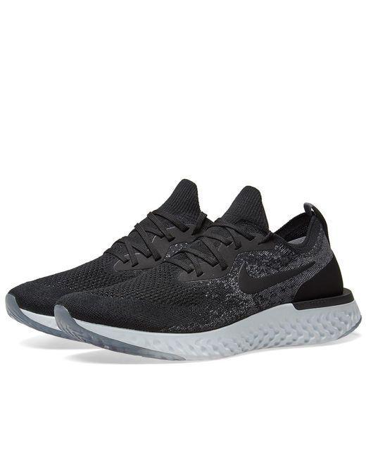 Lyst Nike Epic React Flyknit in Nero for Uomo nqcufu987