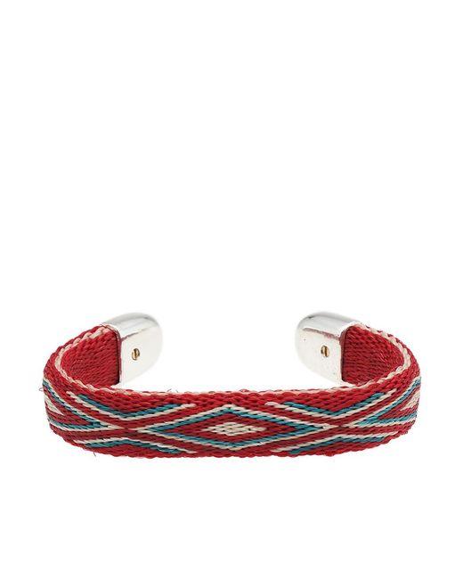 Chamula - Red Bendable Bracelet for Men - Lyst