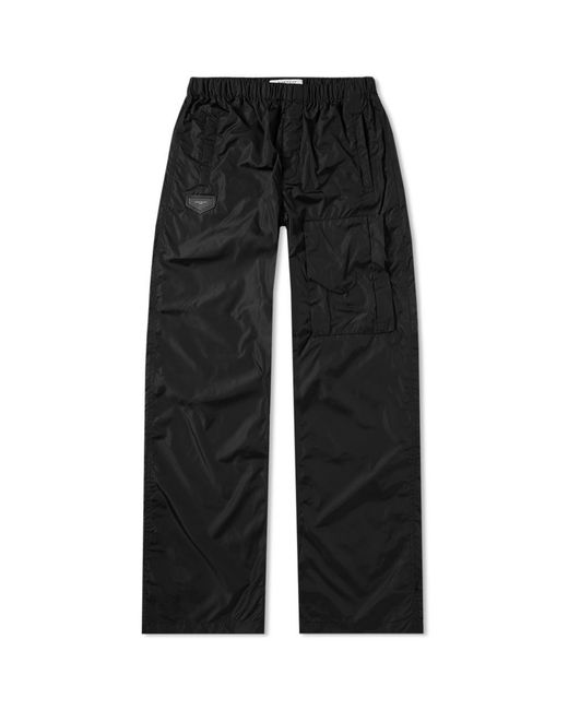 Givenchy - Black Nylon Cargo Logo Jogging Pant for Men - Lyst