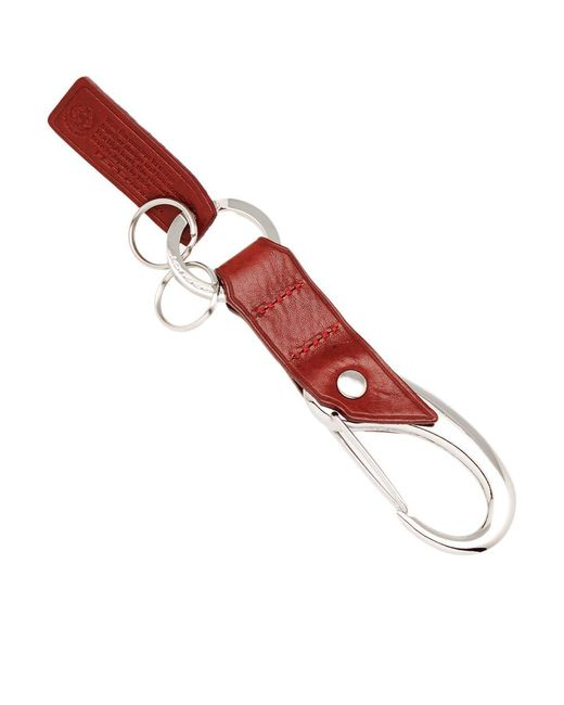 Master Piece - Multicolor Oil Leather Keyring - Lyst