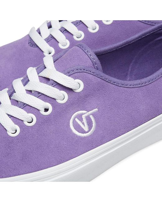 f9d47c1a0ca Lyst - Vans Authentic One Piece Circle V in Purple for Men - Save 13%