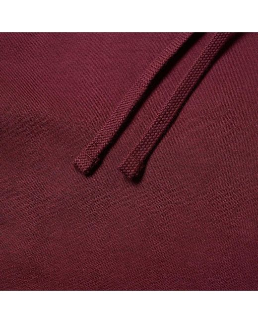 e831741dd3f8 Lyst - Nike Club Logo Hoodie In Burgundy in Red for Men - Save 18%