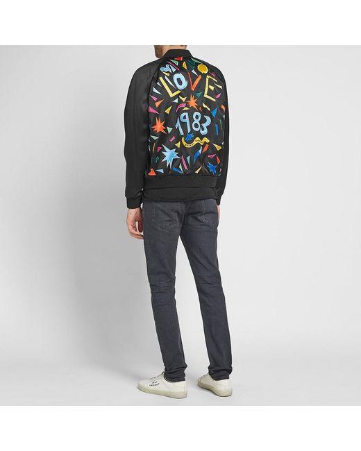 c00ef55e111 ... Saint Laurent - Black Love Teddy Jacket for Men - Lyst