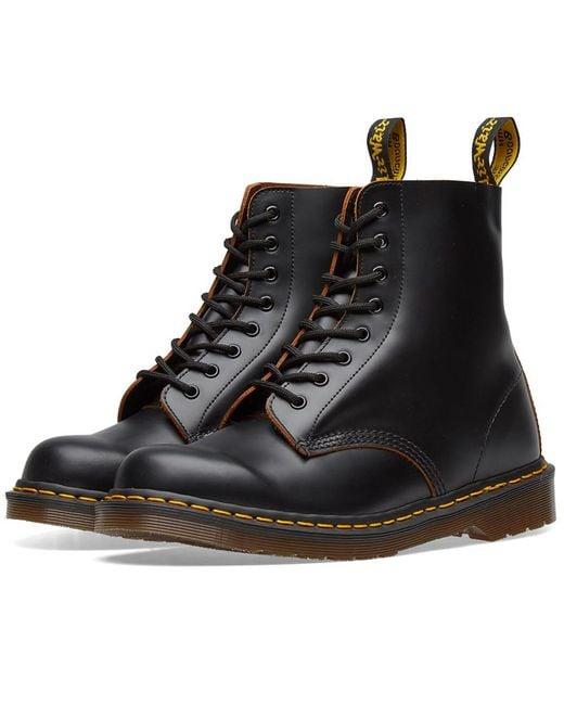 Dr. Martens - Black Dr. Martens 1460 Vintage Boot - Made In England for Men - Lyst