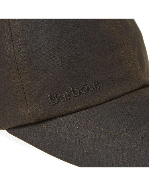 556a5bb267196a Lyst - Barbour Wax Sports Cap in Green for Men - Save 41%