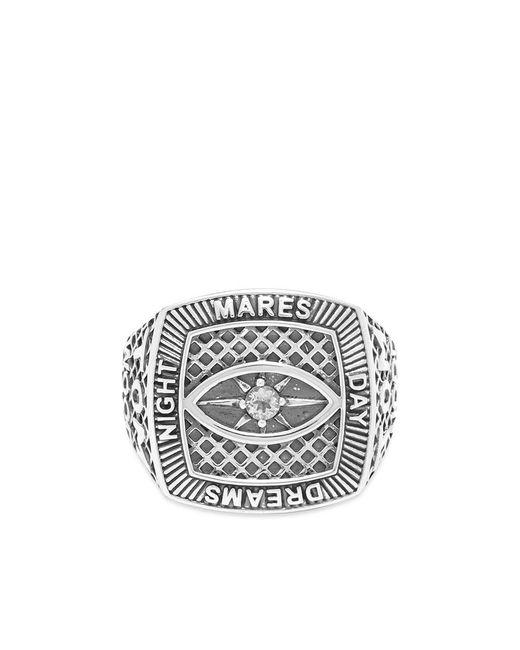 Tom Wood Metallic Champion Ring Crystal Eye for men