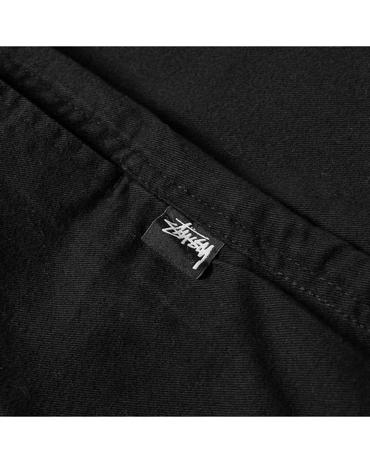 b42c99bc8f ... Stussy - Black Og Brushed Beach Pant for Men - Lyst ...