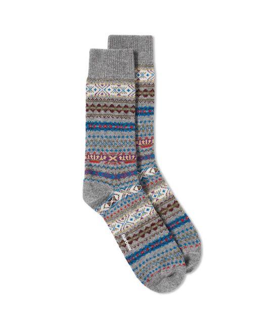 Barbour - Gray Boyd Sock for Men - Lyst