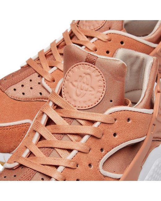 511f65c060c8 ... Nike - Pink Air Huarache Run Premium W Shoes (trainers) - Lyst ...