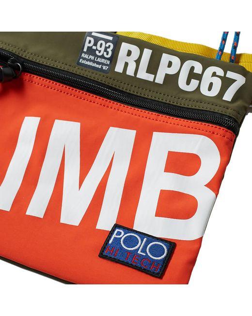 963ce48e5e ... Polo Ralph Lauren - Multicolor Hi-tech Pouch for Men - Lyst ...