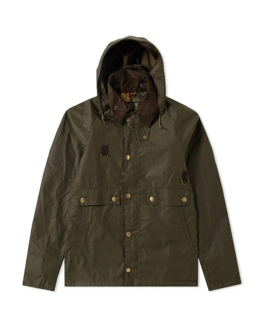 Barbour - Green Heritage Speyside Wax Jacket for Men - Lyst