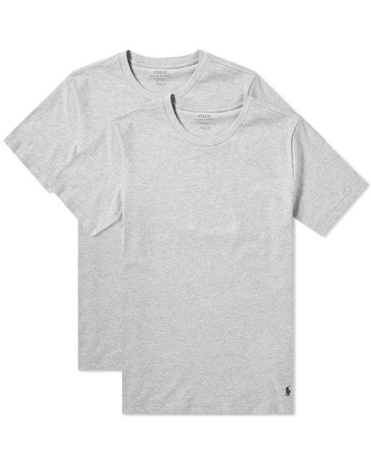 Polo Ralph Lauren - Gray Crew Base Layer Tee - 2 Pack for Men - Lyst