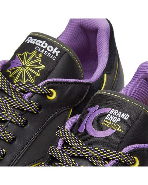 f8180aec7ab3 ... Reebok - Black X Brandshop Classic Leather for Men - Lyst ...