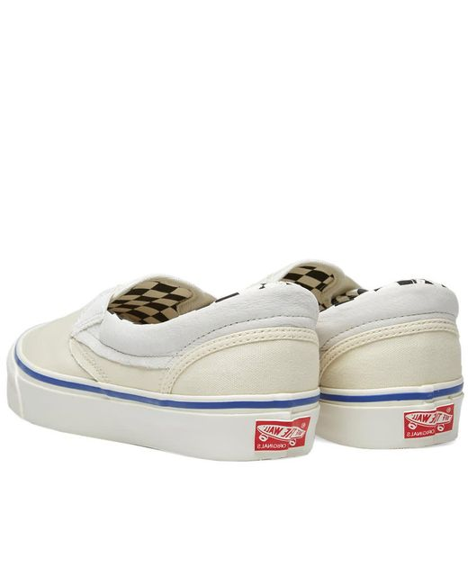 03c39b90f1d ... Vans - White Ua Og Authentic Lx Inside Out Checkerboard for Men - Lyst  ...