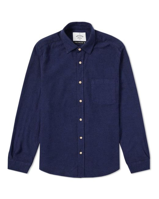Portuguese Flannel - Blue Teca Shirt for Men - Lyst