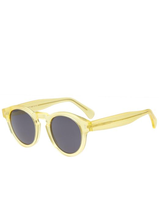Illesteva - Yellow Leonard Sunglasses for Men - Lyst