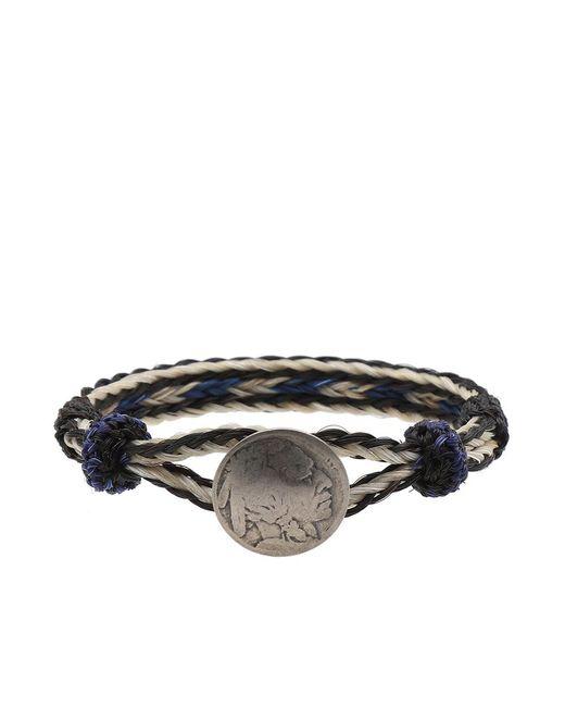 Chamula - Blue Indian Concho Bracelet for Men - Lyst