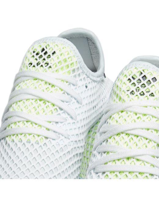 ada52d8a18c3f ... Adidas - Blue Deerupt Runner W - Lyst ...