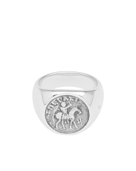 Tom Wood - Metallic Coin Ring for Men - Lyst