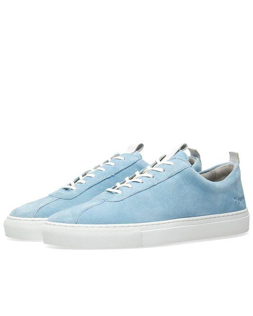 GRENSON - Blue Sneaker 1 for Men - Lyst