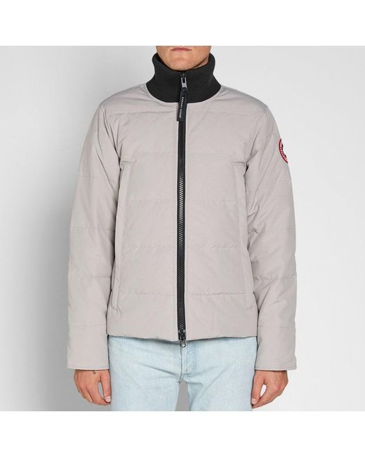 cb935f9fdea ... Canada Goose - White Woolford Jacket for Men - Lyst ...