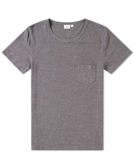 Onia | Gray Chad Pocket Tee for Men | Lyst