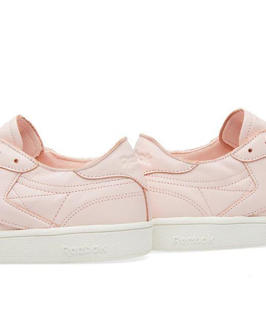 5ad6d67a5c9 ... Reebok - Pink Club C 85 Dcn W - Lyst ...