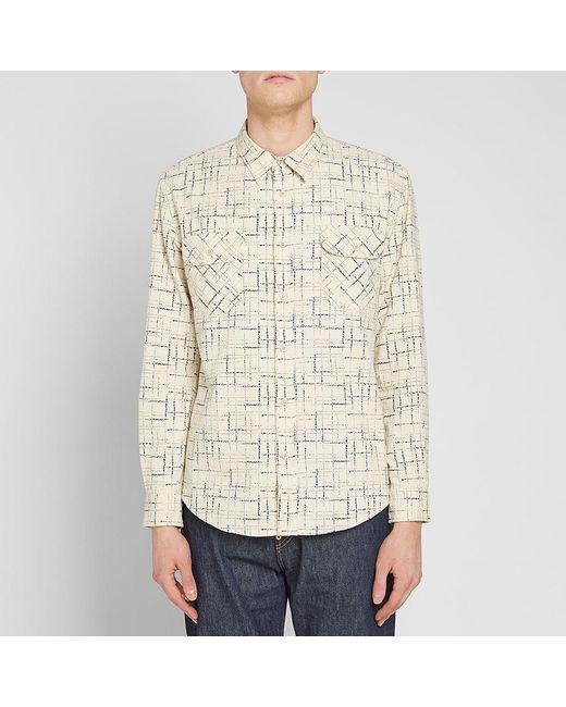 511797deaa ... Lyst Levi s - White Levi s Vintage Clothing Shorthorn Shirt for Men ...